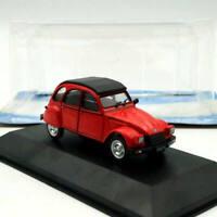 IXO 1:43 Citroen IES 3CV America 1986 Diecast Models Limited Car Toys Red Gift