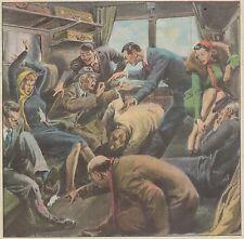 K0856 Due topolini terrorizzano viaggiatrici sul treno Piacenza Milano - Stampa