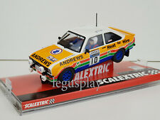 """Slot Car Scalextric A10147s300 Ford Escort MKII #10 """"Heat for Hire"""""""