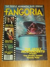 FANGORIA #17 GHOST STORY WHITE DOG DARK SHADOWS ALAN ORMSBY