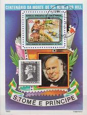 Sao Tome e Principe Nr. Bl. 44 (645) 100.Todestag von Rowland Hill