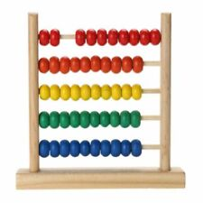 Wooden Abacus Math Learning Number Counting Calculating Bead Educational Toy