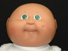 RARE VINTAGE 1982 CABBAGE PATCH KID GREEN EYES DOLL I WENT TO SCOTLAND SHIRT