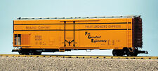 Usa Trains G Scale 50' Mechnanical Reefer R16724 Fruit Growers Express - YelBrwn