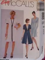 8665 Vintage McCalls SEWING Pattern Misses Dressy Dress Church Career OOP Uncut