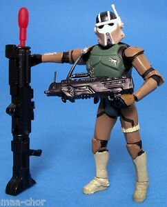 STAR WARS LOOSE ROTS ULTRA RARE AT-RT DRIVER WITH MISSILE FIRING BLASTER. C-10+