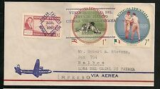 DOMINICAN Republic  -  First Flight Covers Aug. 1961  Panama