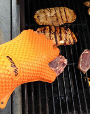 Silicone BBQ Gloves - Perfect For Use As Heat Resistant Cooking Gloves