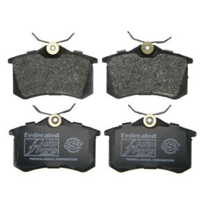 Disc Brake Pad Set-SST Rear Federated MD340A