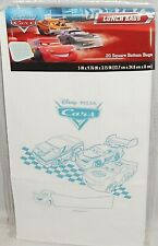 Disney Pixar Cars Lunch Bags  20 Square Bottom Bags  Personalize Your Bag