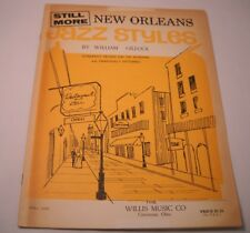 Still More New Orleans Jazz Styles by William Gillock (M110)