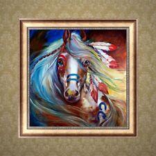 Horse DIY 5D Diamond Embroidery Painting Rhinestone Cross Stitch Decor Craft