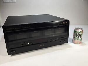 Vintage 1995 Pioneer Elite PD-F107 100 Disc File Type Compact CD Changer Player