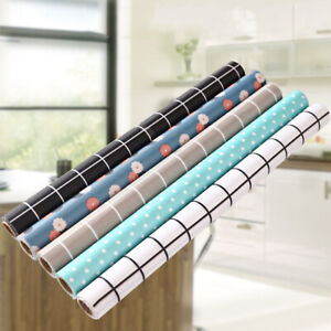 Non Adhesive Shelf Liner Drawer Paper Refrigerator Mat Kitchen Cabinet Non Slip
