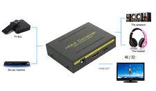 1080P HDMI TO HDMI Audio Extractor Converter Splitter Optical SPDIF + RCA L/R