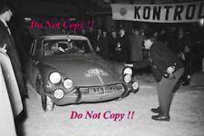 Pauli Toivonen Citroen DS 21 Winner Monte Carlo Rally 1966 Photograph