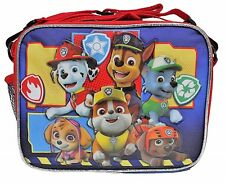 Nickelodeon Blue & Red Paw Patrol Pals Insulated Lunch Bag Soft Kids Lunch Box