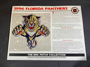 Willabee & Ward NHL Official Patch 1996 Florida Panthers