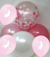 Peter Rabbit Party Balloons, Baby Shower Balloons, Pink Party Balloons