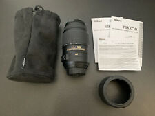 AF-S DX NIKKOR 55-300mm f/4.5-5.6G ED VR DSLR Camera Lens Excellent!