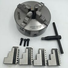 6 inch 4 Jaw Self-Centering Lathe Chuck Hardened Steel For CNC Milling Machine