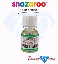 Snazaroo Spirit Gum - Special FX Skin Glue - Halloween Face Paint Make Up 10ml
