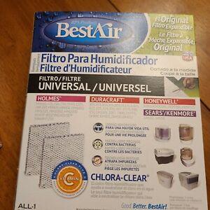 BestAir Universal Humidifier Filter  Cut to fit Holmes, Duracraft, honeywell,