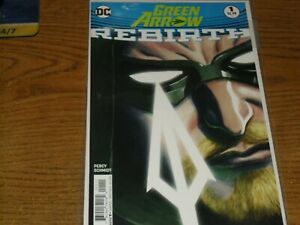 GREEN ARROW DC REBIRTH ISSUES 1-10