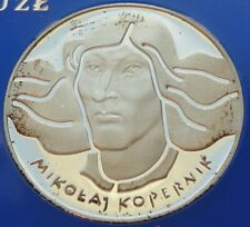 1973 Poland Polen 100 zl zlotych Proof Silver 625 Birth of Mikolaj Kopernik