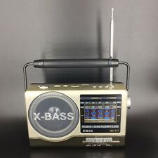 Tragbares Audio & Video Mini Tragbare Player Lautsprecher Handheld Digitale Am Fm Radio Lautsprecher Teleskop Antenne Kopfhörer Unterstützung Tf Aux Usb Aufladbare