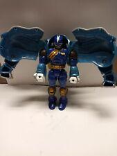 Primal Morphin Blue Elephant Power Rangers Wild Force Figure 2001 Incomplete