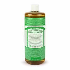 Dr. Bronner Magic Les Savons - Savon liquide de Castille savon bio Amande 945 ml