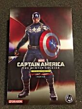 Official Marvel Captain America Winter Soldier by Dragon Models Unpainted