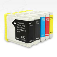 5x non-OEM Inks EXTRA BLACK for BROTHER MFC-235C MFC-240C MFC-260C MFC-440CN