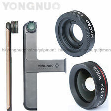 YONGNUO MP0.65X Wide Angle Lens + Macro Mobile Fisheye Lens for iPhone 6 6S Plus