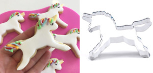NEW Unicorn Biscuit Cookie Cutter - Pastry Cake Fondant Baking Mold Mould Play