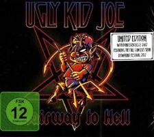 UGLY KID JOE - STAIRWAY TO HELL ( DIGIPAK + BONUS DVD ) - CD + DVD - NEU!!