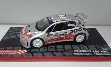 PEUGEOT 206 WRC RALLY FINLANDIA 2002 GRONHOLM EAGLEMOSS 1/43