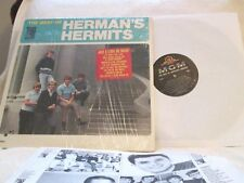 BEST OF HERMAN'S HERMITS..ORG '66 BRIT-POP MONO SHRINK!..W/SONGS STICKER NM!!
