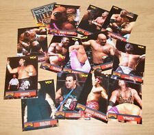WCW - Monday Nitro trading cards - complete set