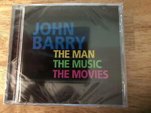 The Man, the Movies, the Music by John Barry (Composer) NEW SEALED CD