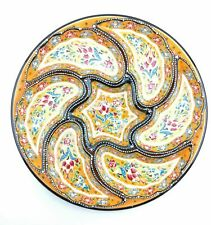 Traditional Turkish Hand Painted Dipping Set (Yellow)