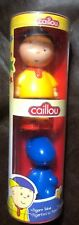 Caillou - Classic Caillou And Rexy Figures In Tube NEW