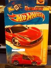 HOT WHEELS 2012 FE #25 -2 458 SPIDER RED NMC AMER