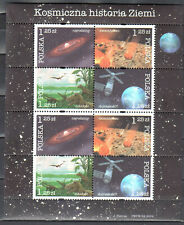 Poland 2004 - History of the Earth - Mi 4162-4165 sheet - MNH(**) - postfrisch