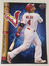 Yadier Molina FATHEAD 2014 Tradeable 5x7 +Team Logo Decal Graphics CARDINALS