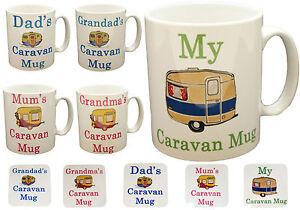 CARAVAN MOTORHOME MUG COFFEE CUP TEA MUGS GIFT NOVELTY SET NEW CAMPING 137