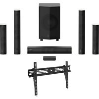 Enclave CineHome Pro 5.1 Wireless Home Theater Surround Sound +Mount Mount Kit