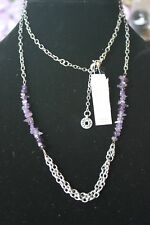 Karma Bella Purple Stone Necklace