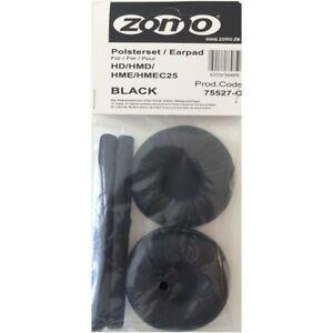 ZOMO HD 25 (BLACK) Kit Spugne Ricambio SIMIL PELLE per cuffie DJ sennheiser HD25